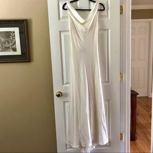 ABS Allen Schwartz White Gown NWT